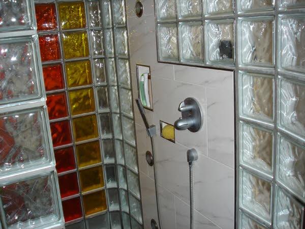 Begehbare dusche mit glasbausteinen ihr ideales zuhause stil for Dusche glasbausteine